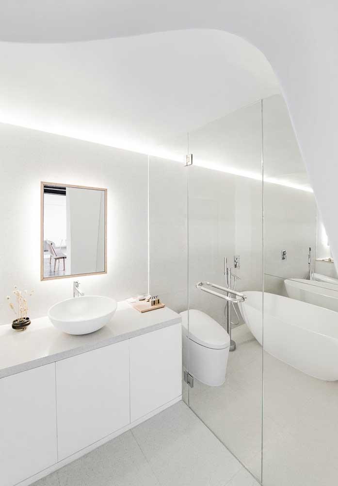 Mas a decoração mais clean sempre deixa o ambiente mais elegante.
