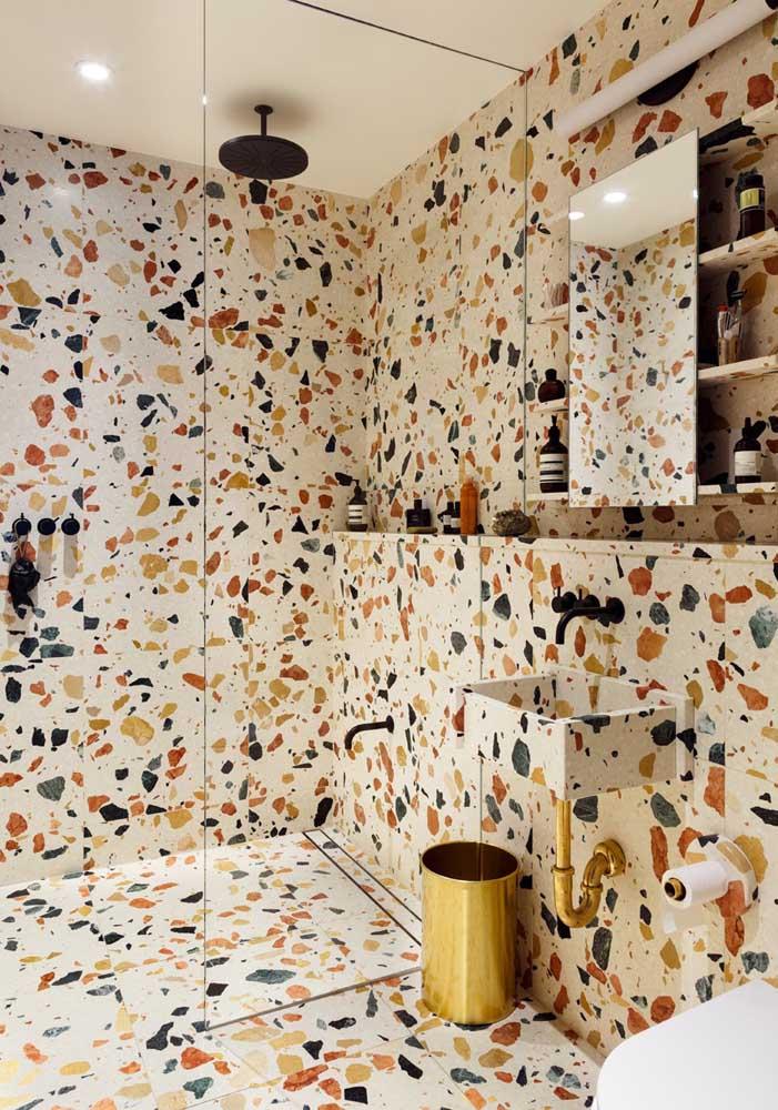 Você pode apostar em uma decoração totalmente diferenciada para o seu banheiro.