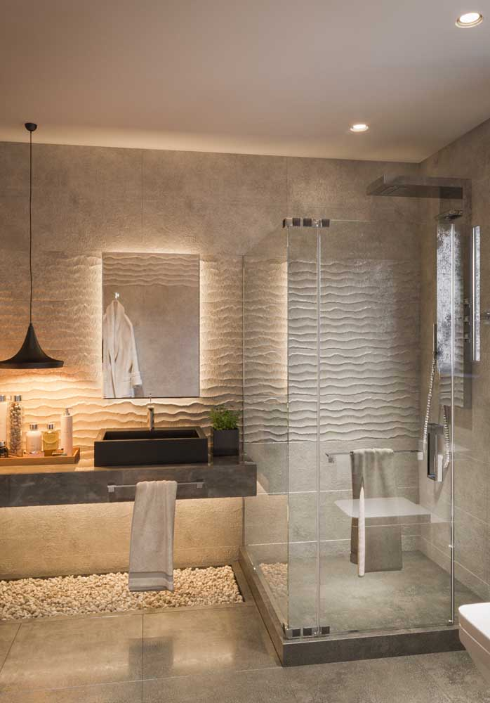 Você quer um banheiro de casa de luxo?
