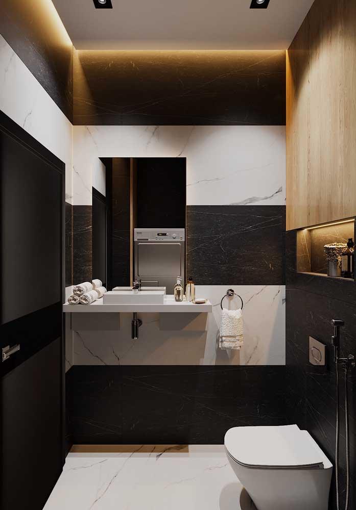 Saiba combinar as cores certas na hora de decorar o banheiro.