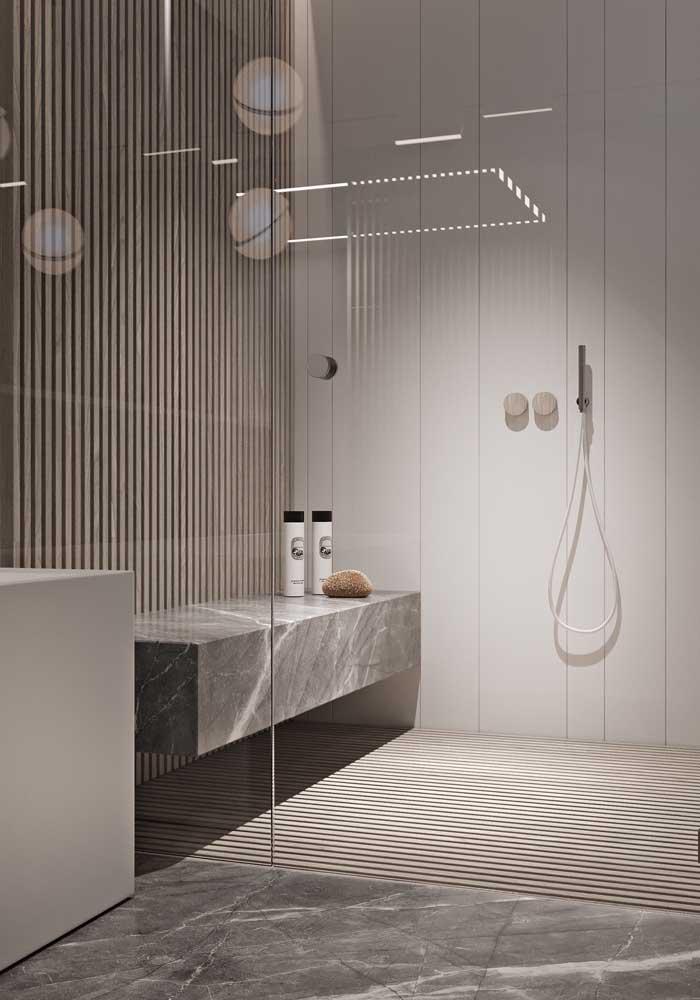 Quem não quer um banheiro para relaxar?