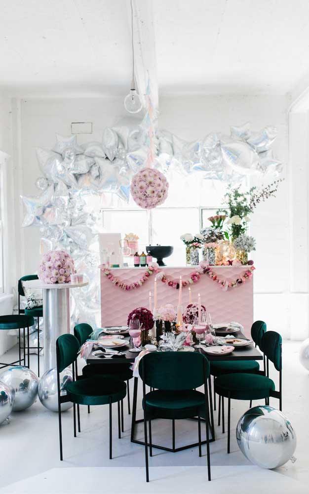 Decoração de bodas simples e intimista para poucos convidados