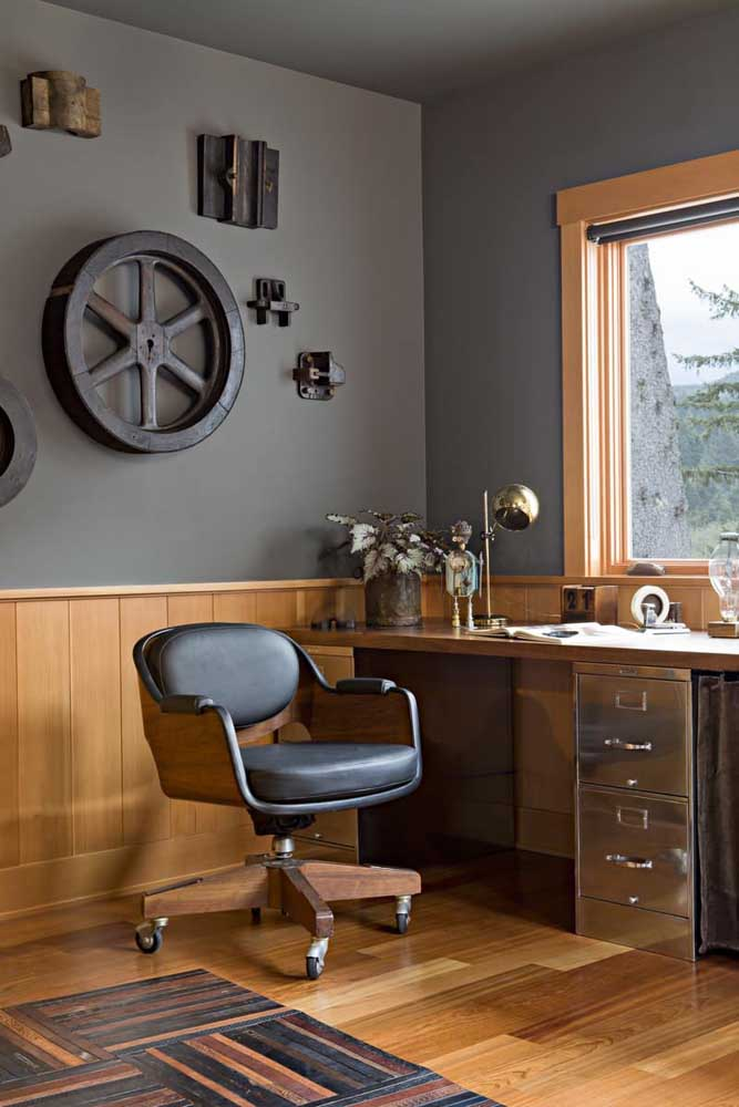 Mais uma opção de cadeira para escritório totalmente diferenciada.