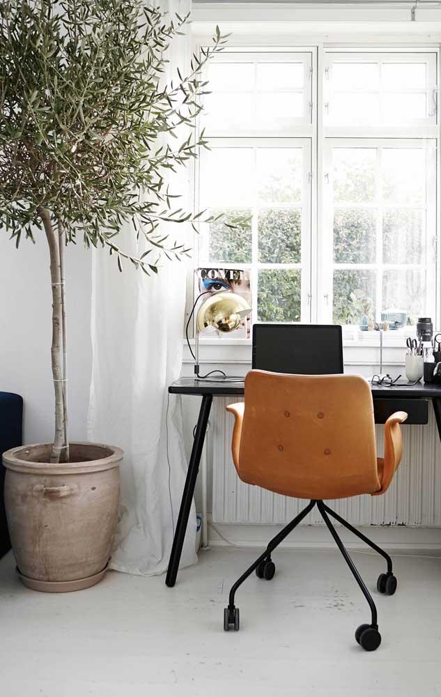 Um modelo mais tradicional para o escritório também vale