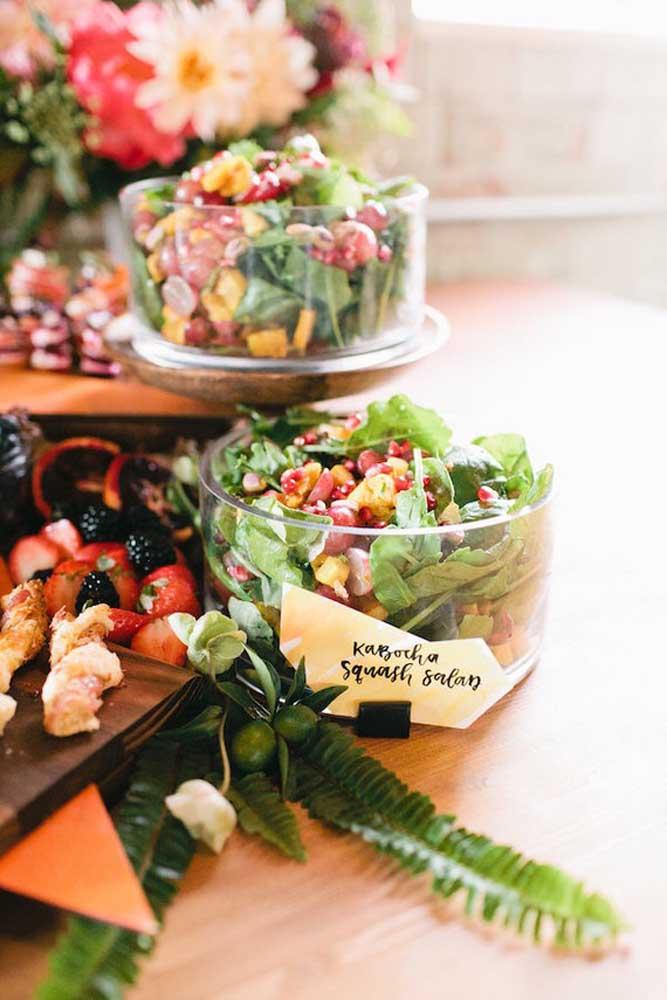 Mais uma opção de salada para ceia de ano novo.