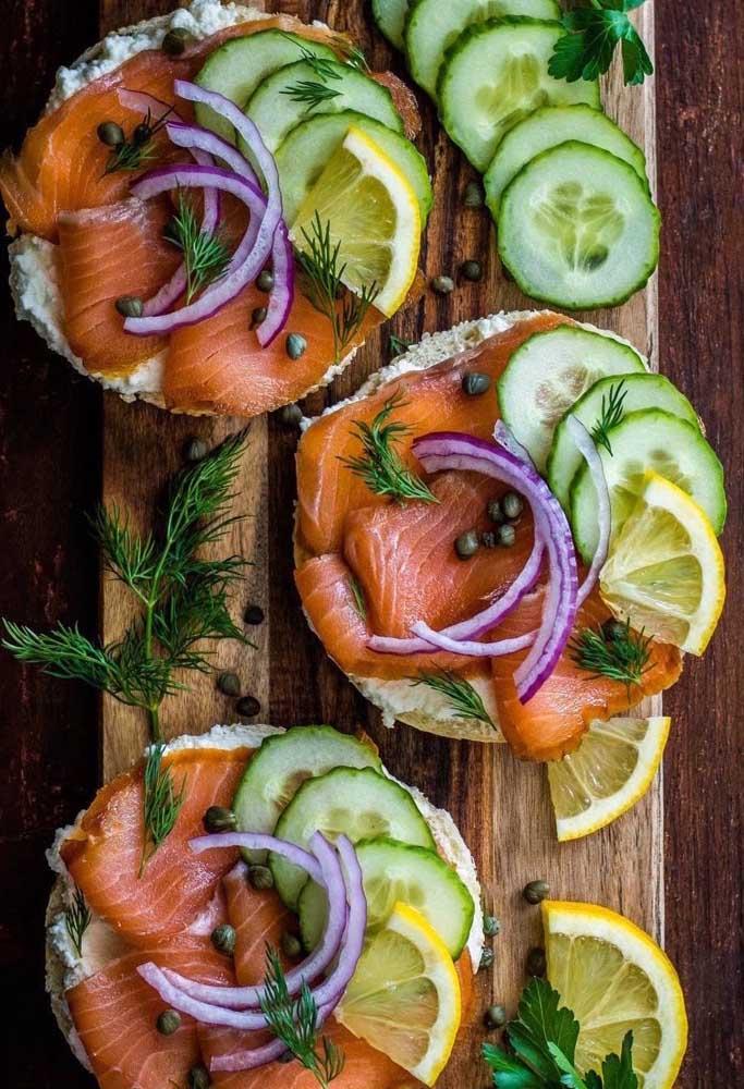 Veja uma opção fantástica para servir salmão na ceia de ano novo.