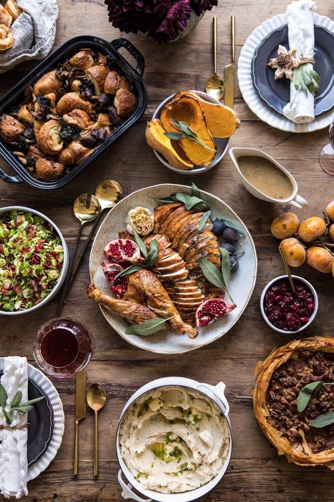 Prepare várias comidinhas para seus convidados se deliciarem no ano novo.
