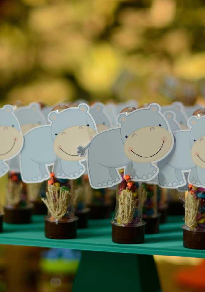Pura simpatia esses hipopótamos!