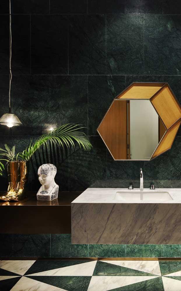 O granito verde ubatuba pode ser usado em diferentes áreas da casa.