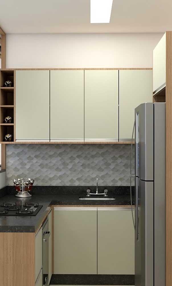 Veja como uma cozinha mais simples se transforma com o granito verde ubatuba.