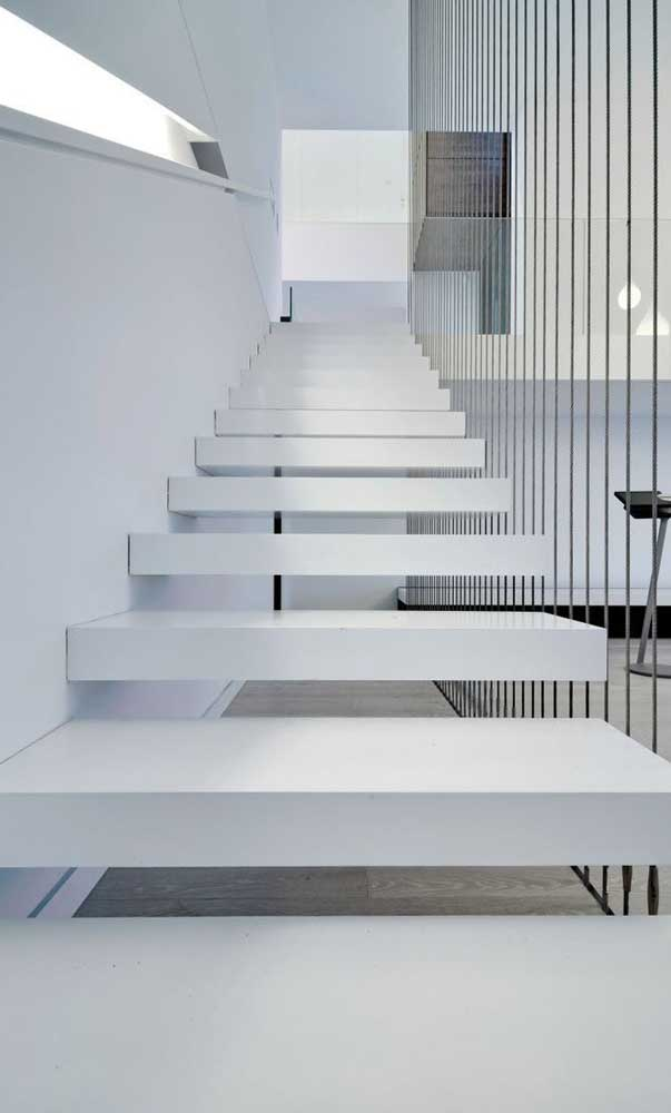 O nanoglass também pode ser aplicado na escada da sua casa.