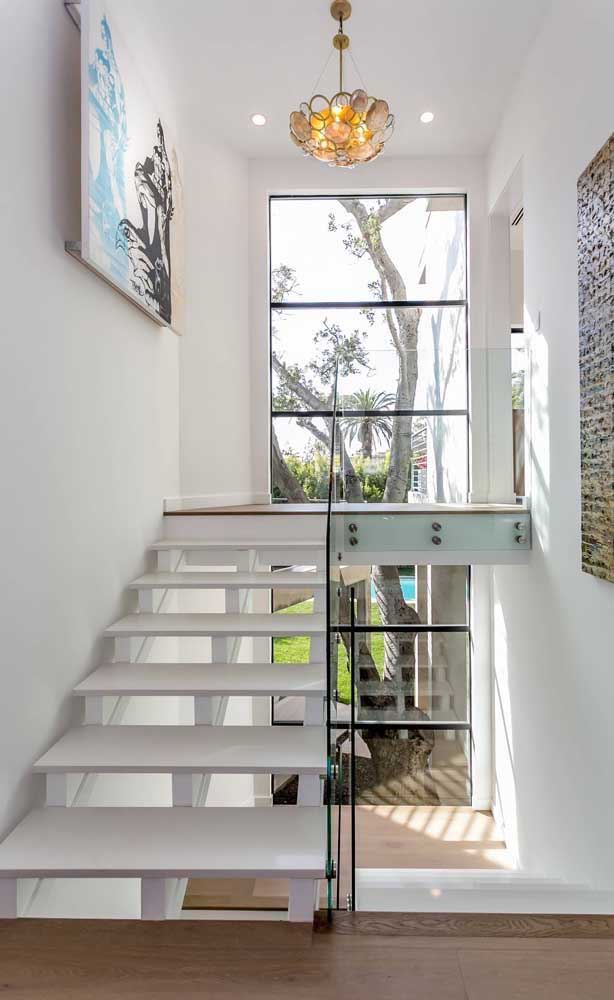 Que tal usar o super nanoglass na escada da sua casa?