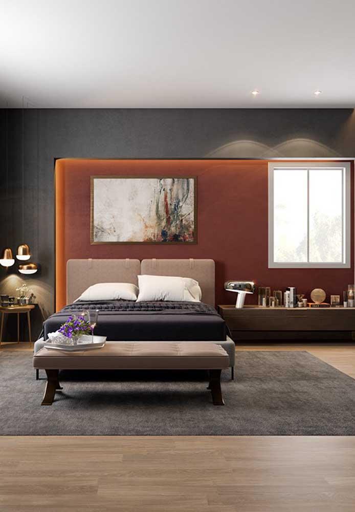 Saiba escolher as cores certas para harmonizar o ambiente do seu quarto.
