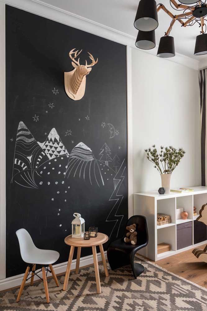 Olha que painel lindo para o quarto infantil.