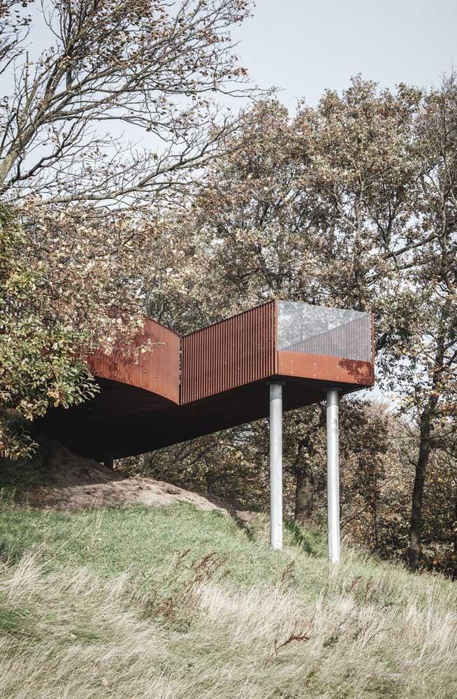 O material pode ser usado nos mais variados projetos de construção.