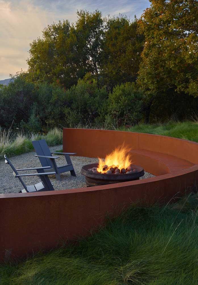 Que tal criar um ambiente como esse para relaxar?