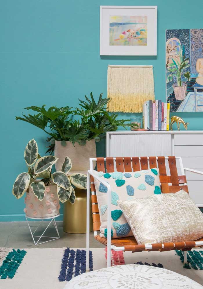 Para proporcionar mais conforto aos seus convidados, coloque almofadas nas cadeiras.