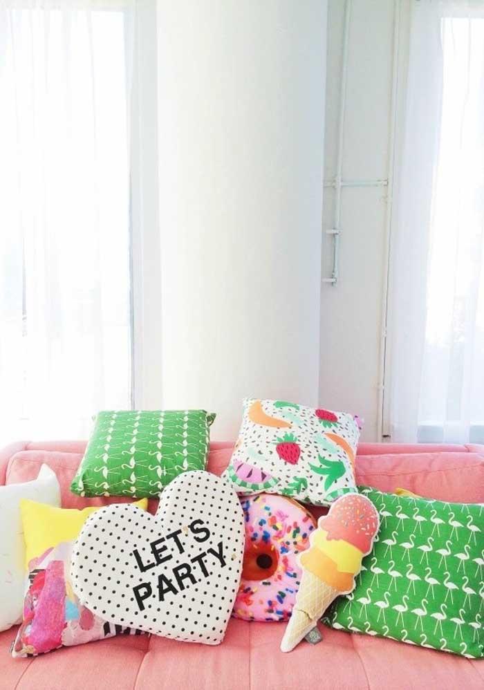 Veja como você pode fazer uma decoração colorida, divertida e versátil.