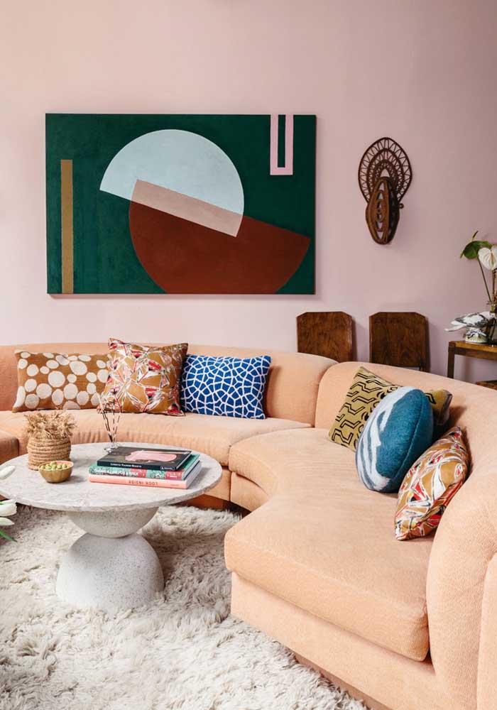Já sabe como vai usar as almofadas na decoração da sua sala de estar?