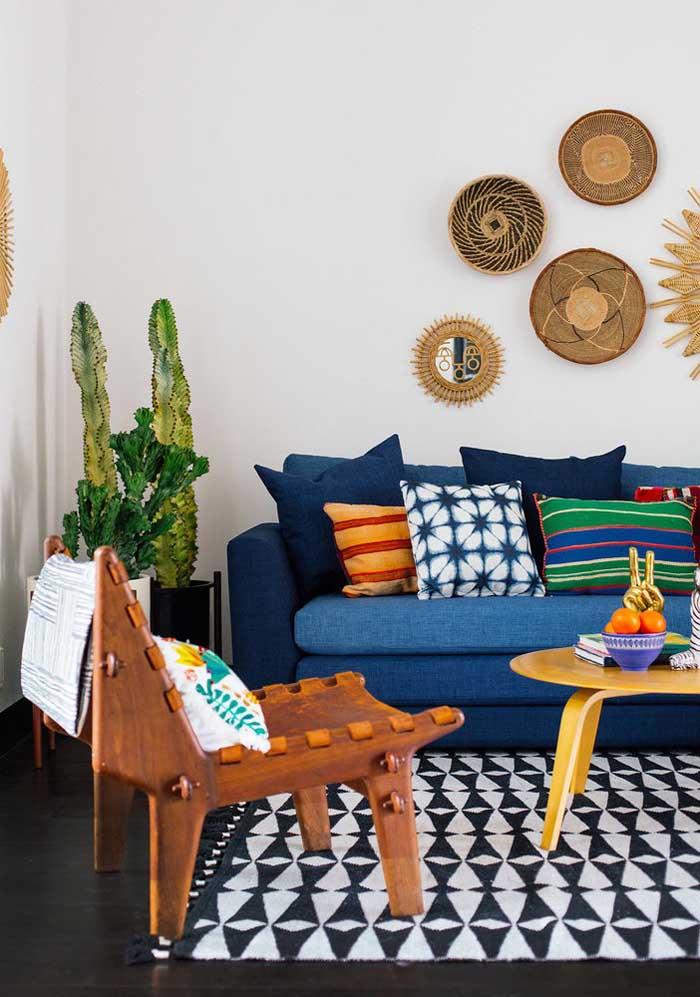 Siga seu estilo na hora de fazer a decoração da sua casa.