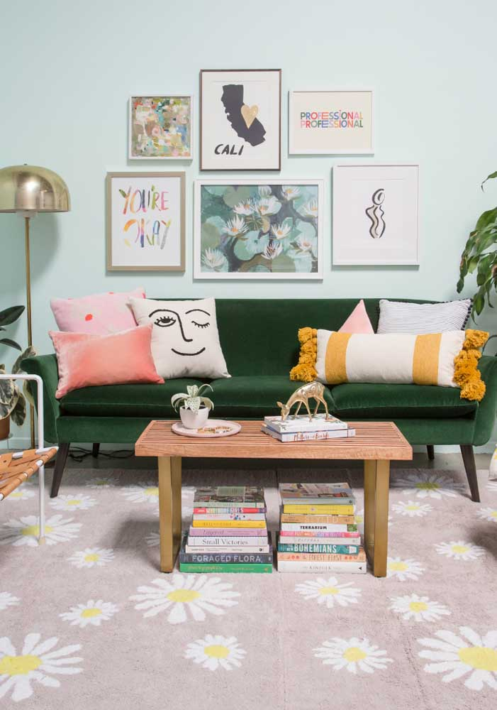 Olha que almofadas divertidas mais estilosas para combinar com a decoração da sua sala.