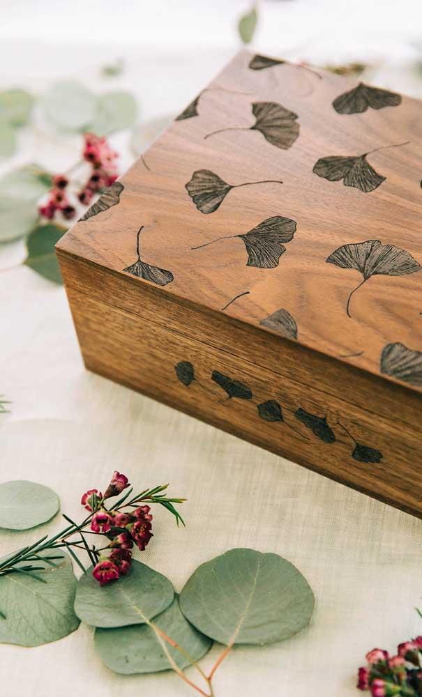 As caixas em MDF são as mais pedidas quando se fala em artesanato.
