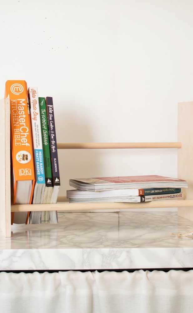 Organize seus livros adequadamente.