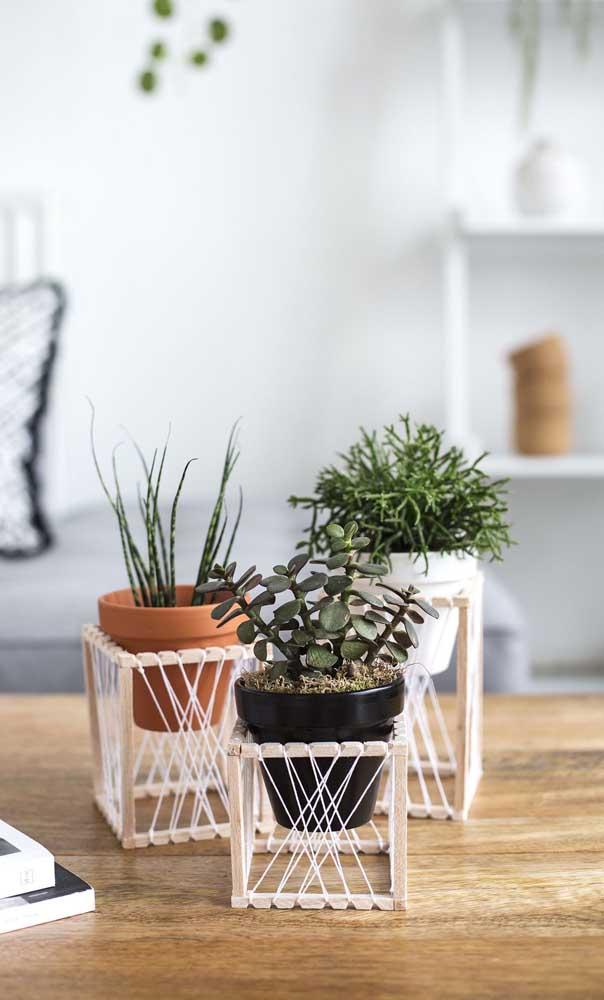O vasinho de planta precisa ter um cantinho especial.
