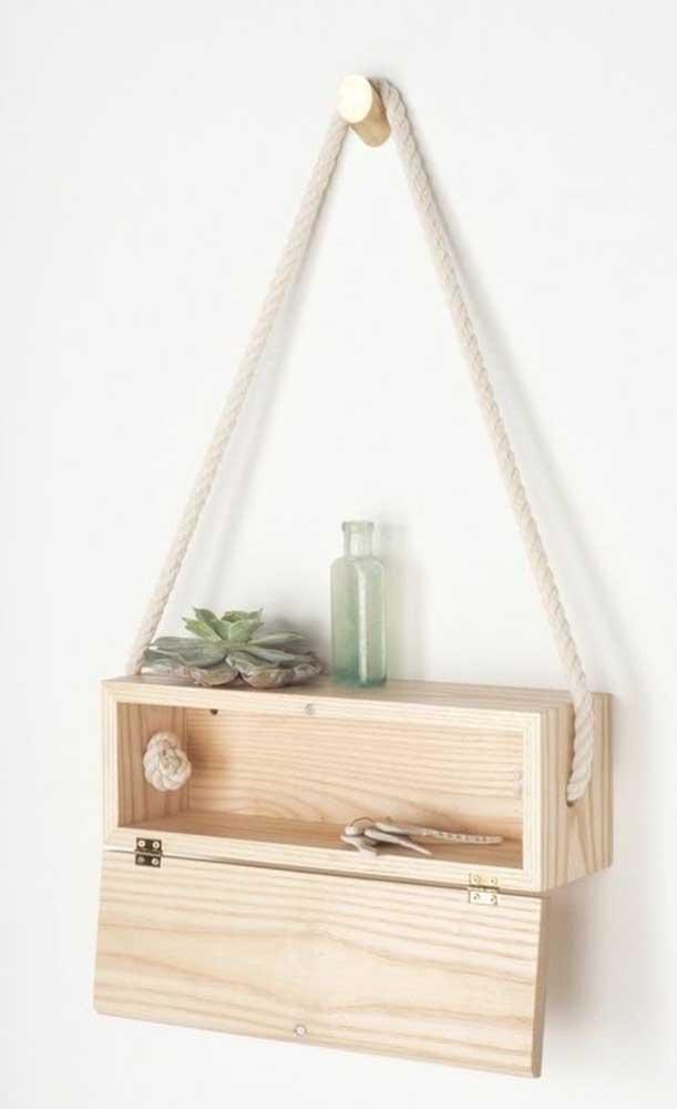 Com o artesanato em MDF é possível fazer belos objetos decorativos.