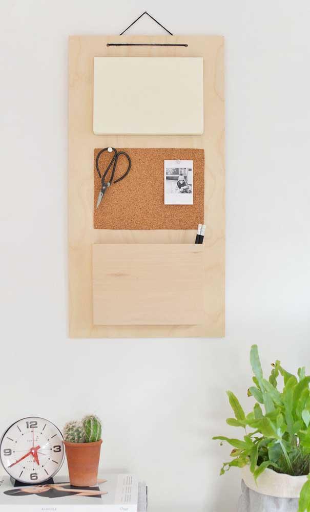 Outra opção de painel para home office e quartos.