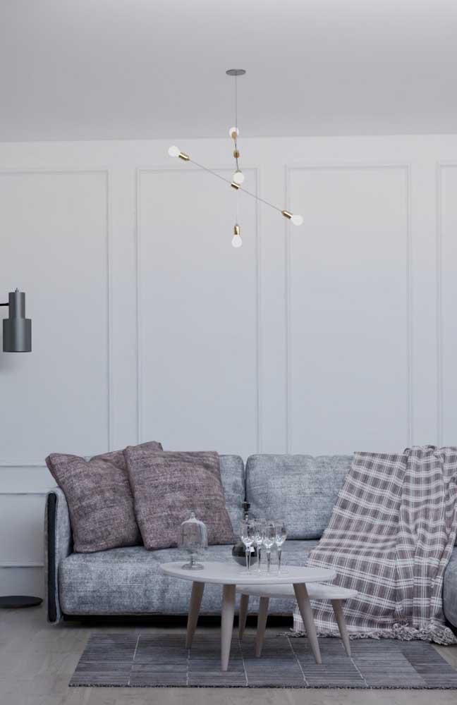 O painel Boiserie é perfeito para colocar na parede da sala de estar.