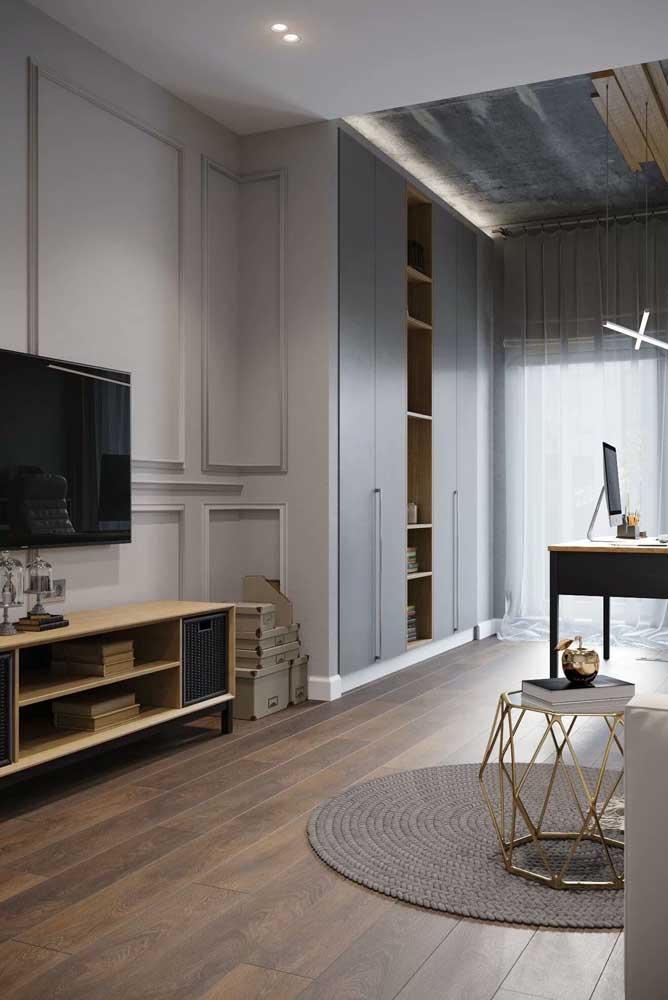 Dá para combinar diferentes estilos de decoração em um mesmo ambiente.
