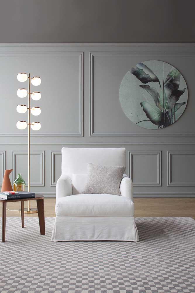 Olha esse quadro perfeito para colocar na parede Boiserie.