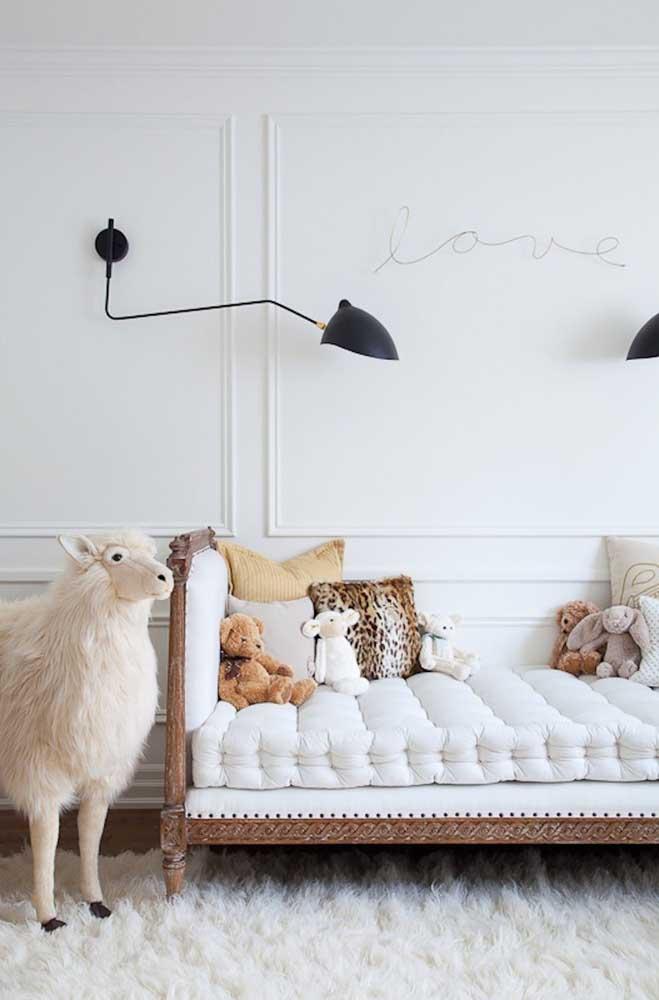 Que tal usar a técnica Boiserie para decorar o quarto das crianças?