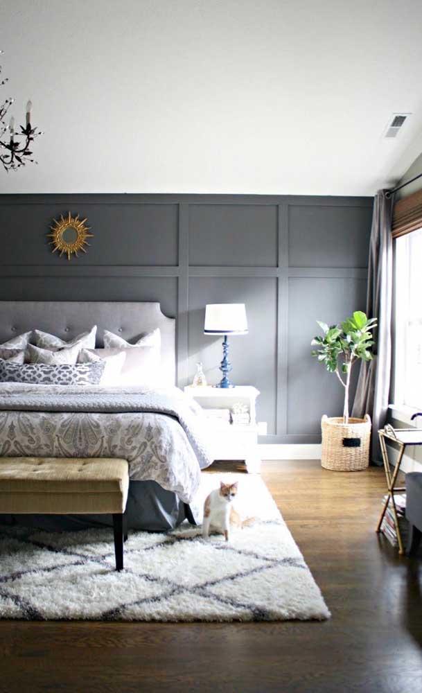 Escolha um carpete de madeira no estilo mais natural.