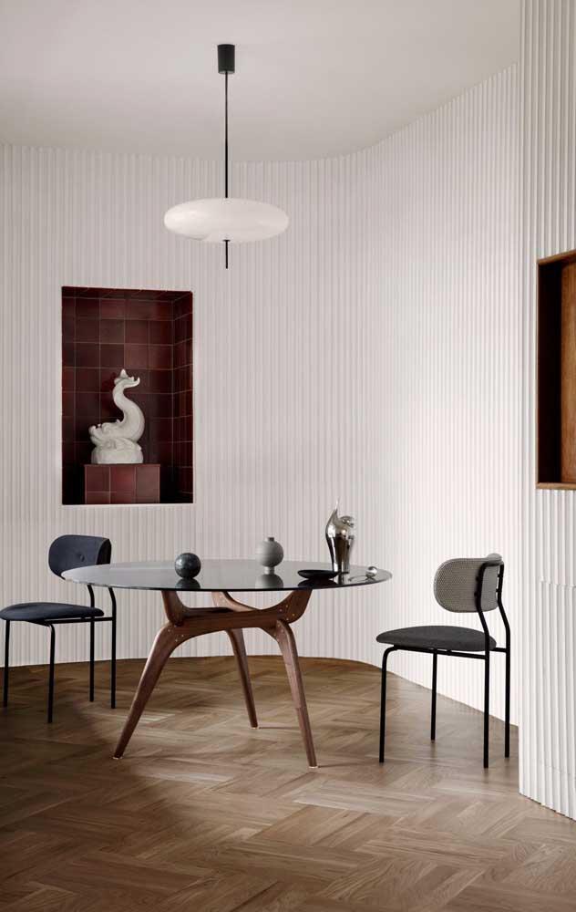 Que tal escolher o carpete de madeira no modelo artificial?