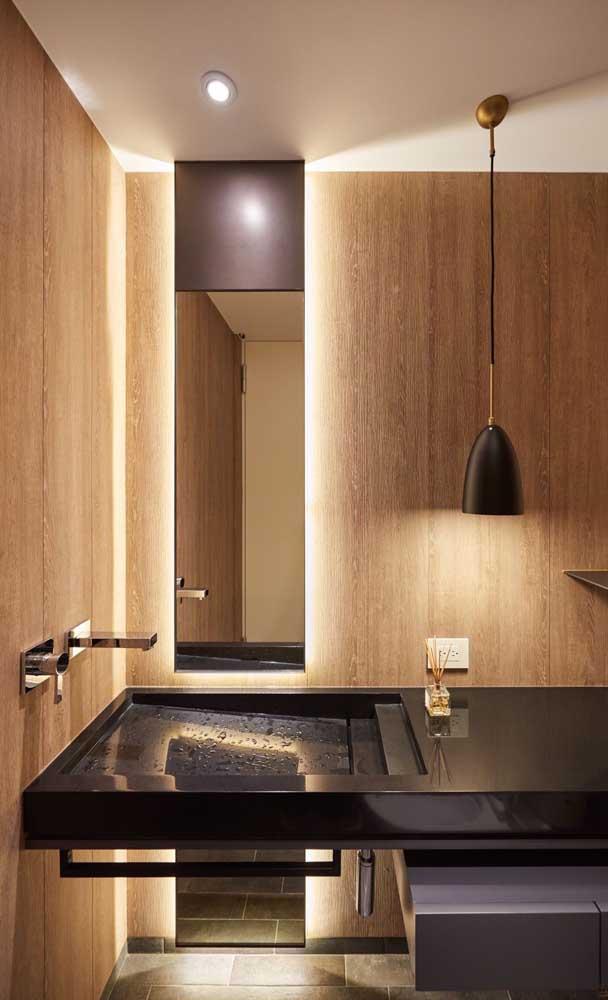 Veja que design super moderno dessa cuba para banheiro.