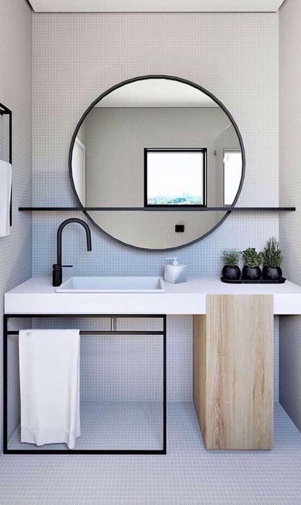 O modelo de cuba para banheiro sobrepor é um dos preferidos dos encanadores.