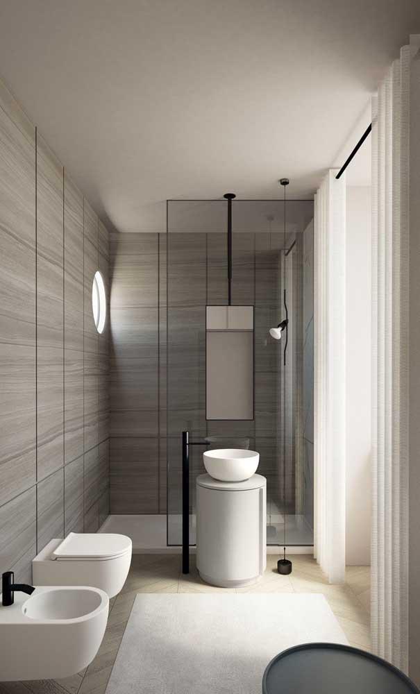 A ideia é ótima para quem prefere manter um ambiente mais minimalista.