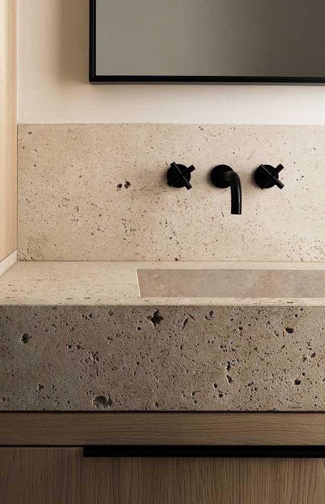 O mais importante é selecionar algo que combine com o estilo de decoração do banheiro.