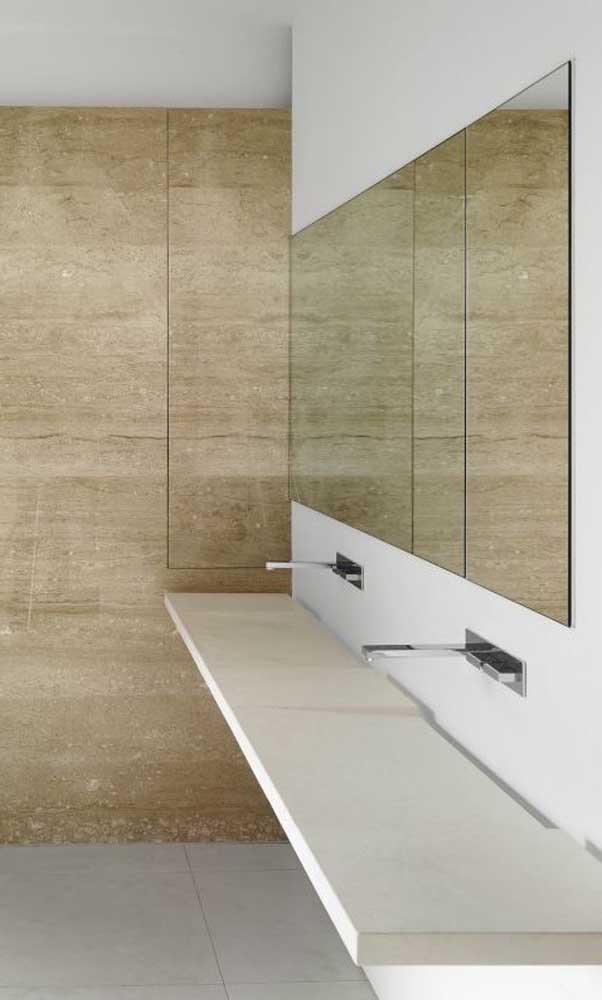 Esse modelo é mais usado em banheiros públicos.