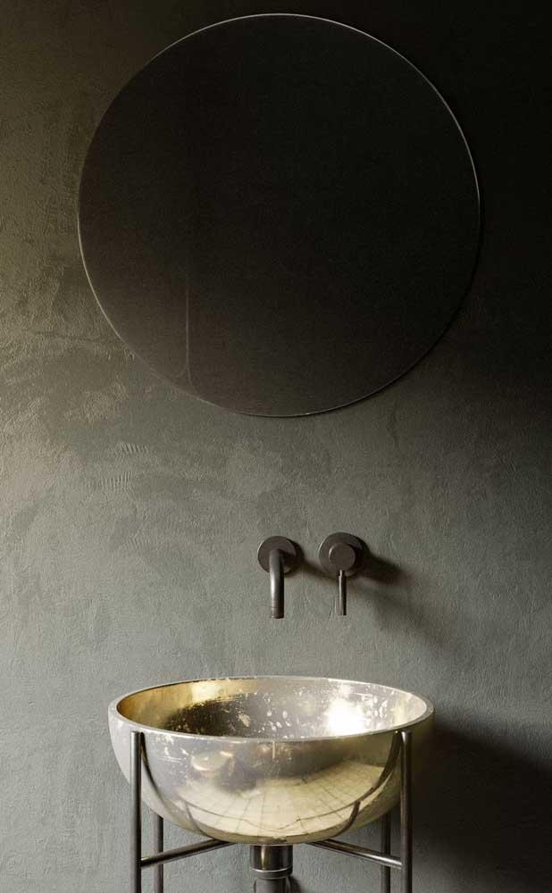 O metal é um deles, sendo indicado para quem deseja uma decoração mais retrô ou moderna.
