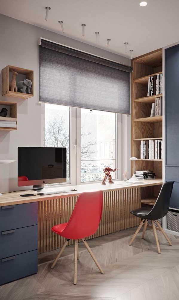 Faça adaptações conforme a sua necessidade para ter um espaço incrível no seu quarto.