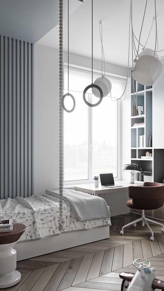 A escolha da cadeira com a escrivaninha faz toda a diferença na decoração do espaço.