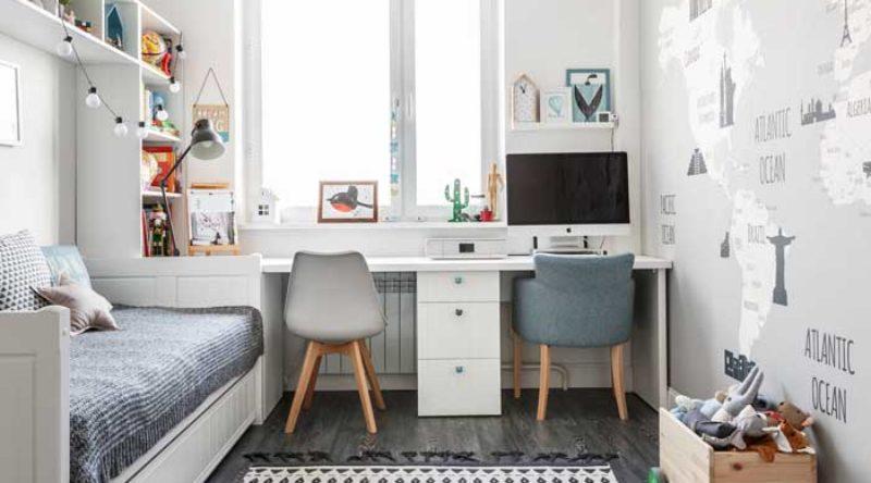 Escrivaninha para quarto: como escolher, modelos e fotos inspiradoras