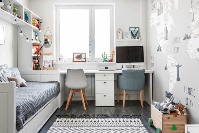 Deixe o espaço de estudo ou trabalho mais aconchegante.