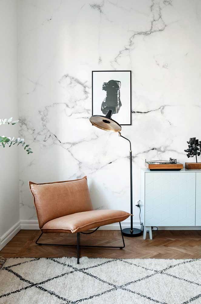Você pode usar a textura marmorato que deseja na parede.