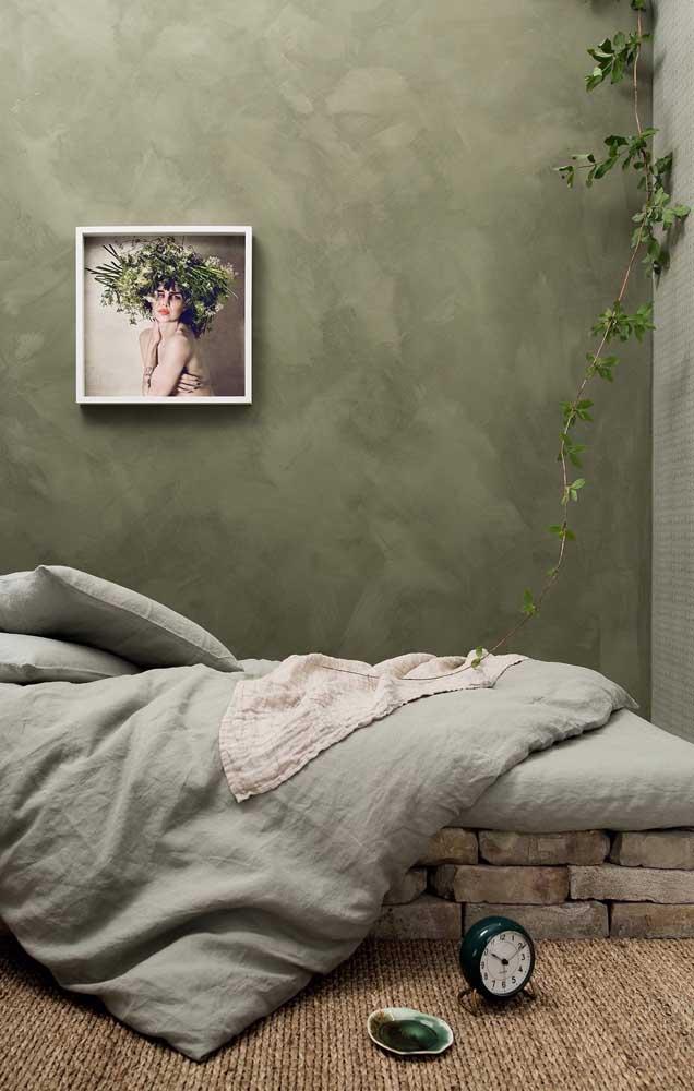 A pintura marmorato combina com diferentes estilos.
