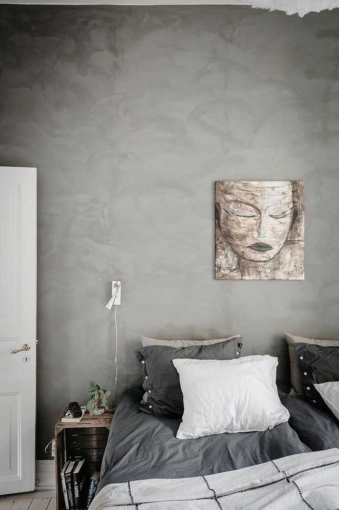 A cor cinza é uma das mais escolhidas na hora de decorar com marmorato.