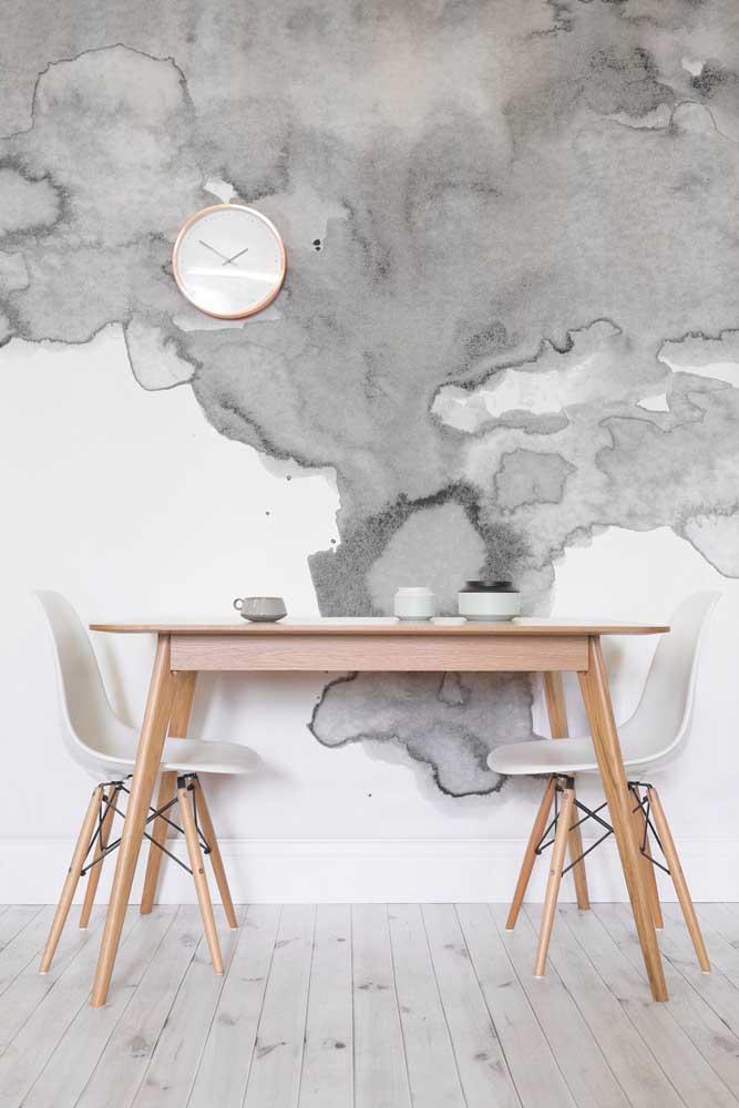 Que tal se inspirar em suas viagens para fazer a parede marmorato?